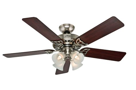 hunter brushed nickel ceiling fan hunter hu54109 markham 2013 52 ceiling fan brushed nickel
