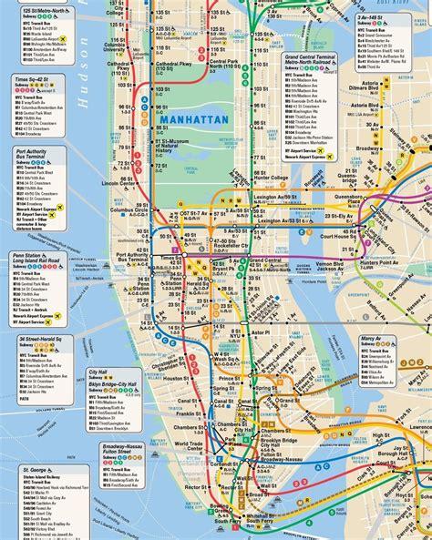 Plan De M 233 Tro New York City