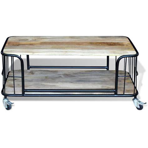 table basse 100 x 50 acheter vidaxl table basse bois de manguier massif 100 x