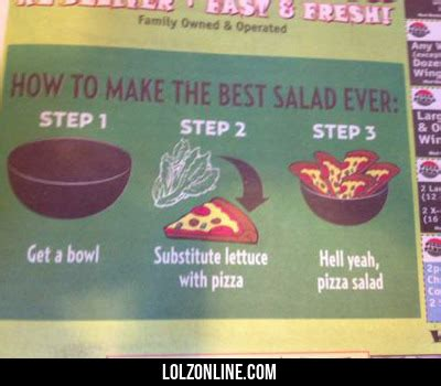 how to crate a 2 year how to make the best salad lolz