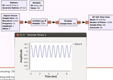 tutorial python signal guided tutorial gnu radio in python gnu radio