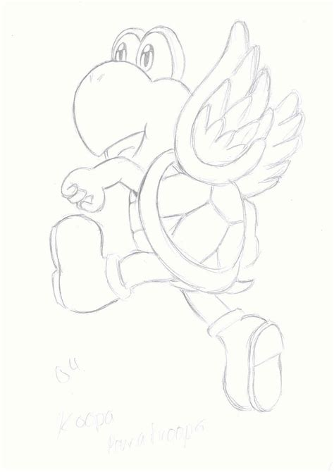 koopa troopa coloring coloring pages