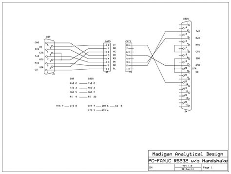 25 Pin To 9 Pin Serial Cable Diagram by Db9 Connector Wiring Diagram Sata Connector Wiring Wiring
