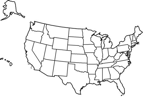 coloring pages us map coloring pages us map coloring page us state map