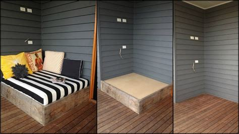 making a daybed make a day bed from reclaimed timber