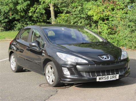 peugeot 2008 black used black peugeot 308 2008 petrol excellent condition for