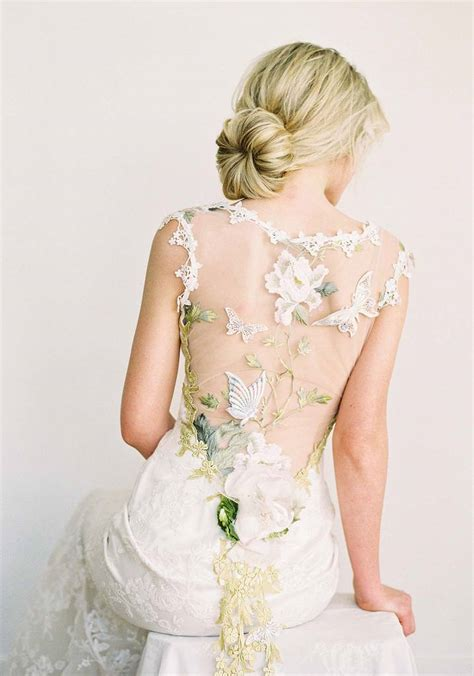 designer wedding dresses clare papillon couture wedding dress by pettibone
