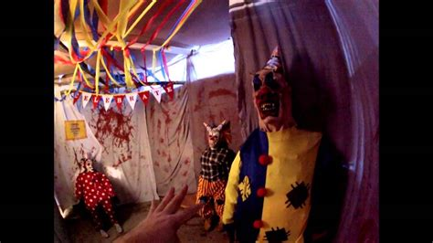 Halloween Haunted House Backyard Maze 2014 Youtube Backyard Haunted House Ideas