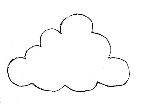 cloud pattern tumblr printable cloud template cliparts co