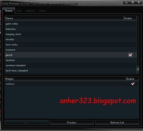 conky manager themes kali linux cara install conky manager di kali linux anherr blog s