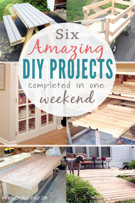 weekend diy projects that you will six easy tutorials