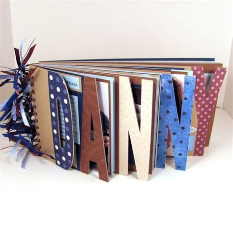Letter Album Name Photo Album And Names On