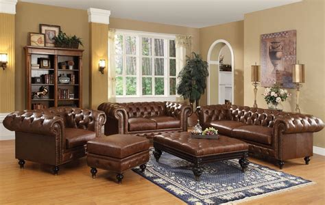 21 Living Room Tufted Leather Sofa Designs Living Room Ideas Leather Sofa