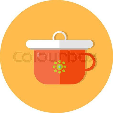 design icon cute flat design cute baby vector icon illustration stock