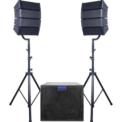 Mini Line by American Audio Mray18 System Mini Line Array System Mray18