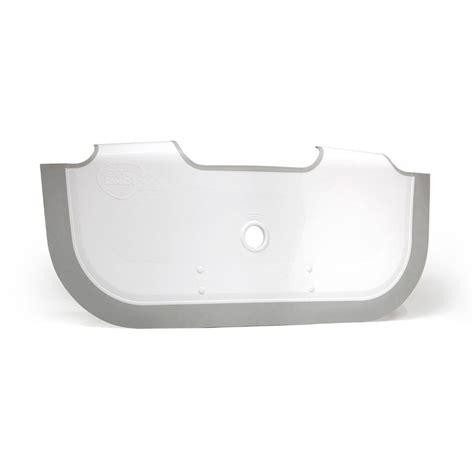 babydam r 233 ducteur de baignoire blanc gris 0 baignoire