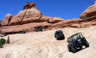 Moab Utah Jeep Trails Best American Roading Destinations