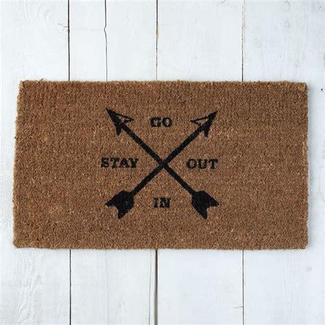 West Elm Doormat go in stay out coir doormat contemporary doormats by west elm
