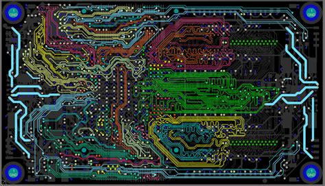 pcb layout design new style for 2016 2017
