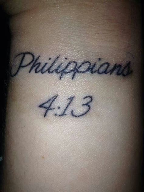 i can do all things through christ tattoo bible verse wrist quot i can do all things through