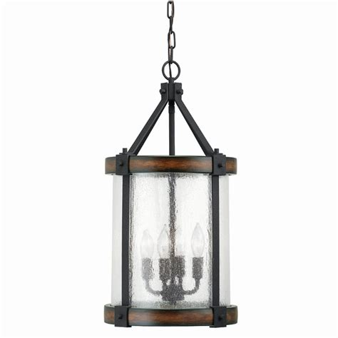rustic pendant pendant lighting by fredeco lighting shop kichler barrington 12 01 in distressed black and wood