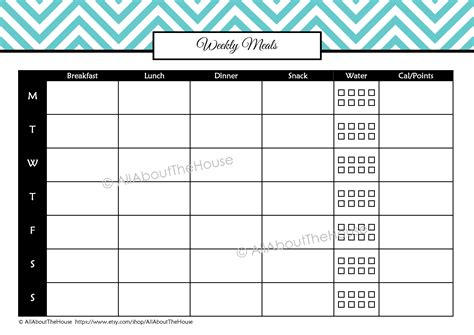 printable meal plan log weekly food menu planner search results calendar 2015