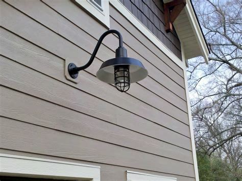 Outdoor Garage Wall Lights Wall Sconces Gooseneck Lights Add Historic Feel To Garage Barnlightelectric