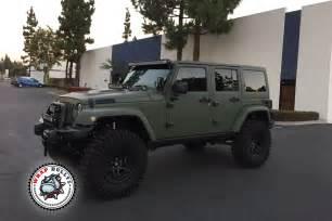 matte army green jeep wrap wrap bullys