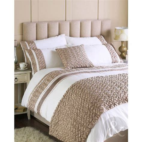 cream and gold bedding luxury faux silk duvet cover cream gold quilt cover