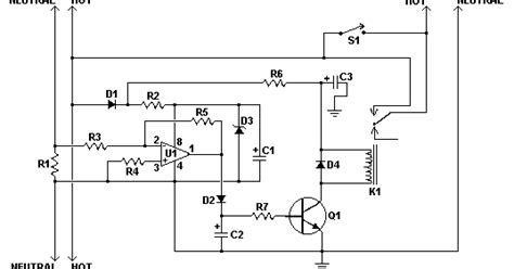 Load Sensing Power Switch Circuit Electronic Projects