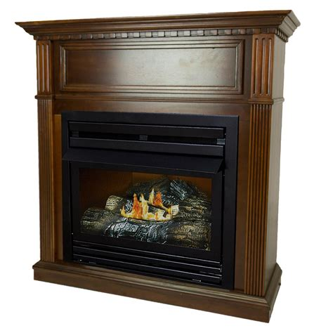 Home Depot Propane Fireplace by Cal 78 In Brown Propane Gas Outdoor