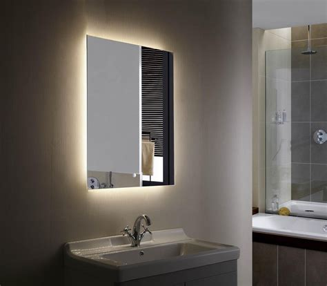 Modern Bathroom Mirrors With Lights by 20 Best Ideas Light Up Bathroom Mirrors Mirror Ideas