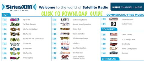 printable version of dish network channels siriusxm internet radio listen on roku