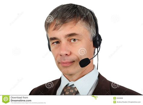 call center di commercio callcenter fotografia stock immagine di handsome