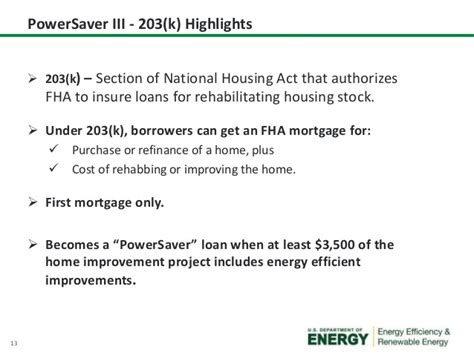 section of the act fha powersaver webinar 1 final