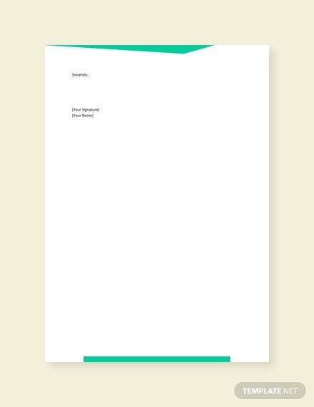 request work authorization letter template word