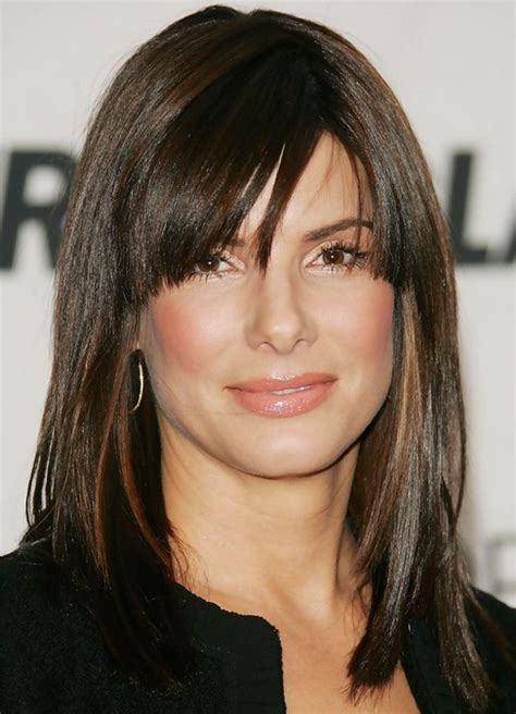 bullock medium length hairstyle haircut