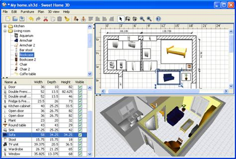 home design 3d español para windows 7 sweet home 3d downloaden computer bild