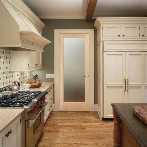 Kitchen Interior Doors Pinpoint Glass Interior Door Traditional Kitchen Sacramento By Homestory Easy Door