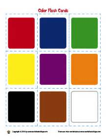 card colors worksheet school colors and shapes