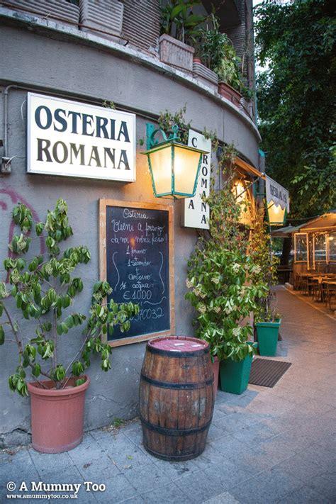 osteria co dei fiori rome sightseeing pasta and living la dolce vita