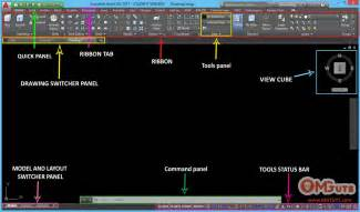 Autocad Description by Look At Autocad 2017 Interface Cad Software Education