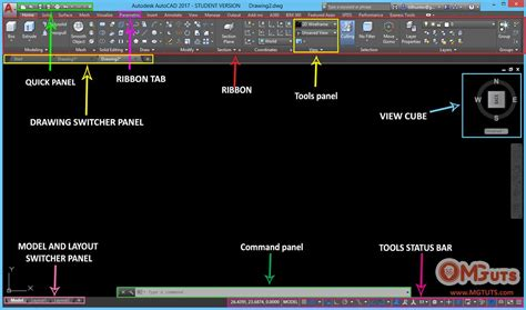 tutorial de autocad 2017 first look at autocad 2017 interface cad cam software