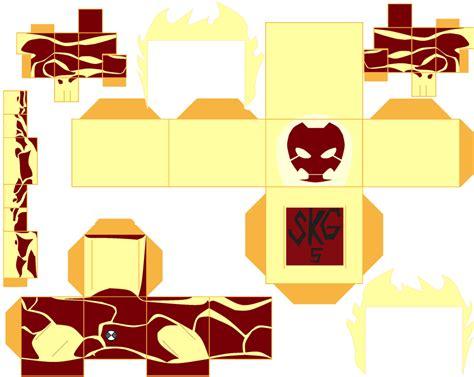 Ben 10 Papercraft - heatblast by superkamiguru5 on deviantart