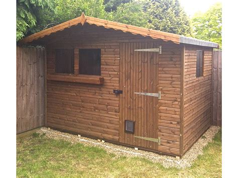 wooden summer houses free fitting delivery