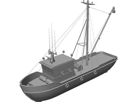 cartoon boat 3d model cartoon fishing boat cliparts co