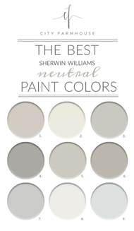 best colors 2017 the best sherwin williams neutral paint colors