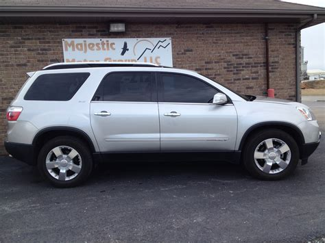 gmc acadia 2008 2008 gmc acadia review ratings specs prices and photos