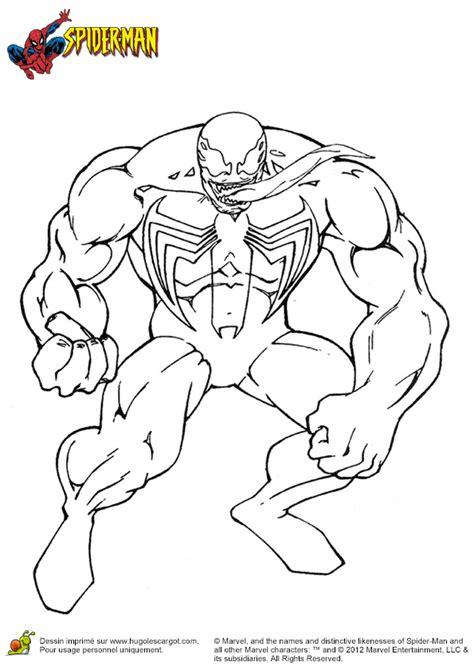 Coloriage Le Lezard Spiderman