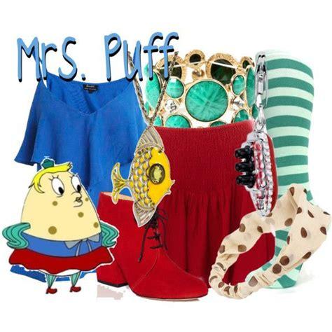 Dress Spongebob Squarepants mrs puff costume polyvore mrs poppy puff from spongebob